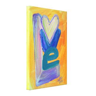 Impresiones de la pintura de la pila de la lona estirada galerías