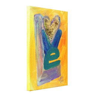 Impresiones de la pintura del brillo de la pila de impresiones en lona