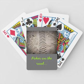 Impresiones de la rueda baraja de cartas