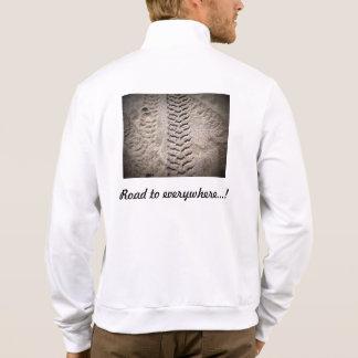 Impresiones de la rueda chaquetas imprimidas