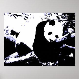 Impresiones de los posters de la panda - poster el