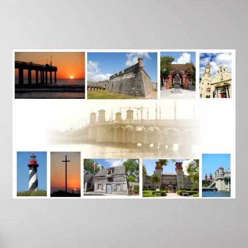 Impresiones de St Augustine, la Florida