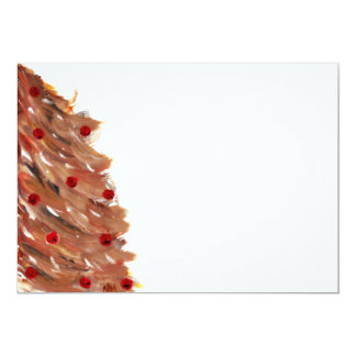 """Impresiones del árbol de navidad invitación 5"""" x 7"""""""