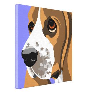 Impresiones del arte de la lona de Basset Hound Impresiones En Lienzo Estiradas