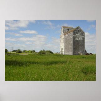 Impresiones del paisaje de Manitoba de la impresió