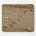 Impresiones del pie tapete de ratones