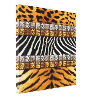 Impresiones del safari impresión en lienzo estirada