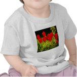 impresiones del tulipán (cuadrado) camiseta