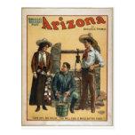 Impresiones del vintage de anuncios postal