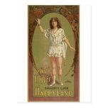 Impresiones del vintage postales