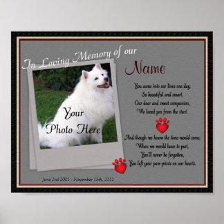 Impresiones en mi monumento del mascota del corazó