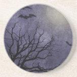 Impresiones fantasmagóricas de Halloween Posavasos Diseño