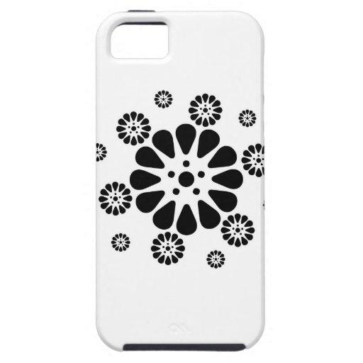 Impresiones floridas iPhone 5 Case-Mate cobertura