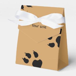 Impresiones grandes del perro caja para regalos de fiestas