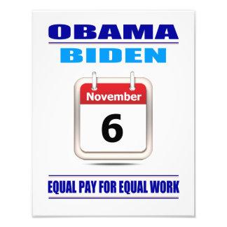 Impresiones: Igualdad de salario para el trabajo i Fotografia