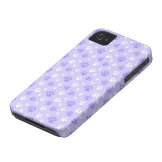 impresiones lindas de la pata iPhone 4 Case-Mate protectores