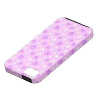 impresiones lindas de la pata iPhone 5 carcasa