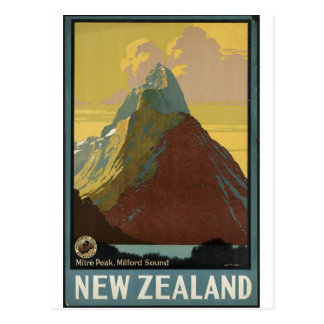 Impresiones retras del anuncio del poster del viaj postal