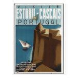 Impresiones retras del anuncio del poster del viaj postales