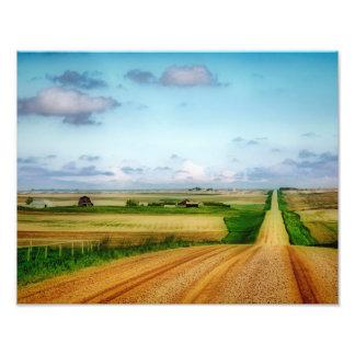 Impresiones rurales del arte de Saskatchewan del Fotografía