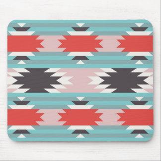 Impresiones tribales aztecas del nativo americano  mousepad