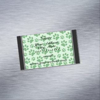Impresiones verdes claras conocidas personalizadas