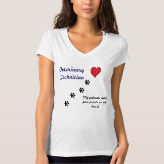 Impresiones veterinarias de la Técnico-Pata en mi Camisas