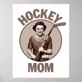 Impresiones y posters de la mamá del hockey