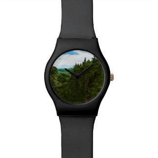 Impresionismo abstracto de Canadá del barranco de Reloj