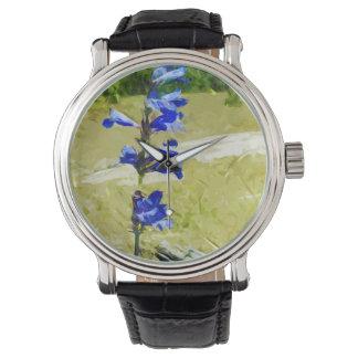 Impresionismo del extracto de la flor de Carys Reloj De Mano