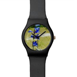 Impresionismo del extracto de la flor de Carys Relojes