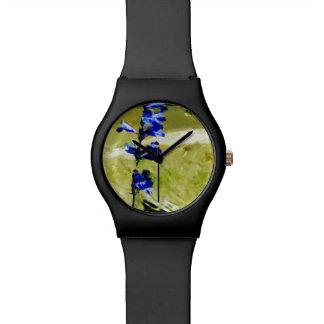 Impresionismo del extracto de la flor de Carys Relojes De Mano