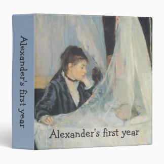 """Impresionismo del vintage, cuna de Berthe Morisot Carpeta 1 1/2"""""""