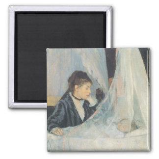Impresionismo del vintage, cuna de Berthe Morisot Imán Cuadrado