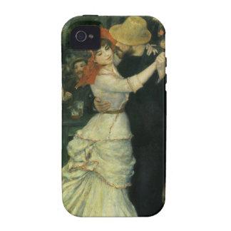 Impresionismo del vintage, danza en Bougival por iPhone 4 Carcasa