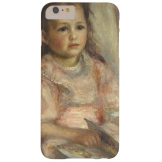 Impresionismo del vintage, retrato de los niños funda de iPhone 6 plus barely there
