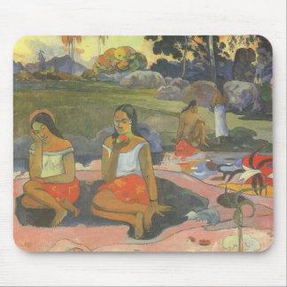 Impresionismo por Gauguin, somnolencia deliciosa Alfombrillas De Raton