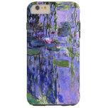 Impresionismo violeta de las reflexiones de la funda de iPhone 6 plus tough