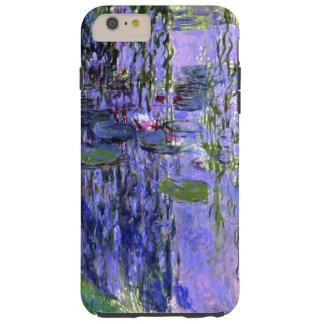 Impresionismo violeta de las reflexiones de la funda para iPhone 6 plus tough