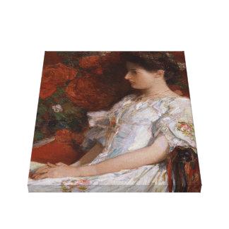 Impresionista de la silla CC0192 del Victorian de Impresión En Lienzo