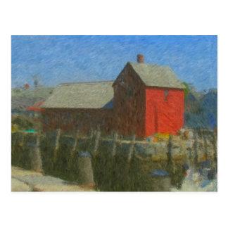 Impresionista del adorno #1 tarjetas postales