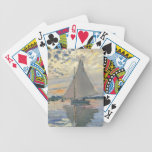 Impresionista del francés del velero de Monet Baraja