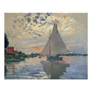Impresionista del francés del velero de Monet