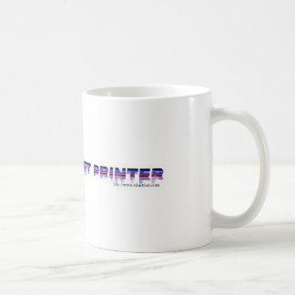 ¡Impresora de chorro de tinta estúpida! Taza