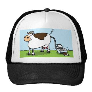 Impresora de la vaca gorro
