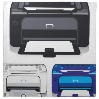 Impresora de oficina servilleta