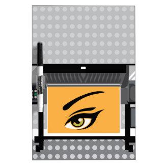 Impresora del formato grande pizarras blancas
