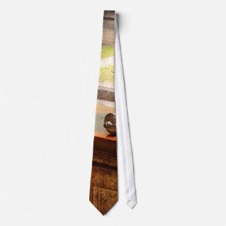 Impresora - una esperanza y un brayer corbatas personalizadas
