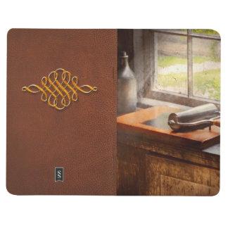 Impresora - una esperanza y un brayer cuaderno grapado