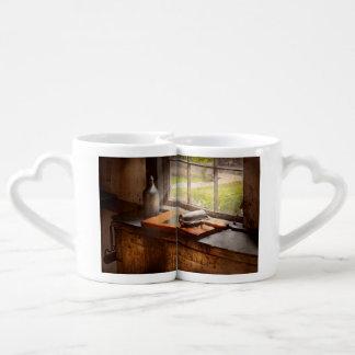 Impresora - una esperanza y un brayer set de tazas de café